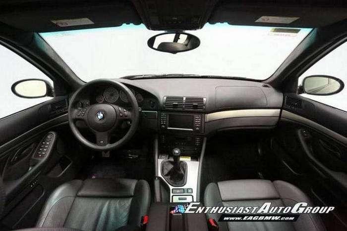 Почти новенькая BMW M5 в 39-м кузове с минимальным пробегом