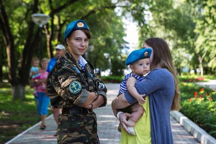 Русские девушки ВДВ