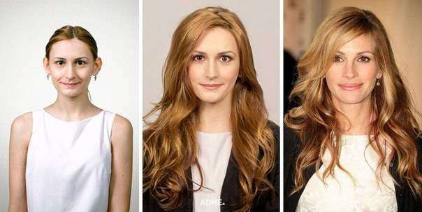 Как макияж превращает обычных людей в знаменитостей