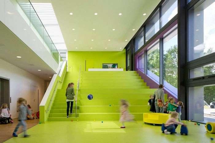 Современный детский сад в Германии