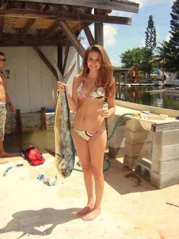 Симпатичные рыбачки