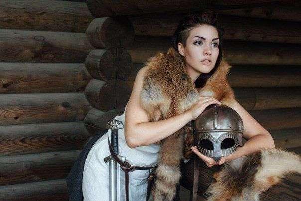 Галина Кохвакко - чемпионка мира по историческому средневековому бою.