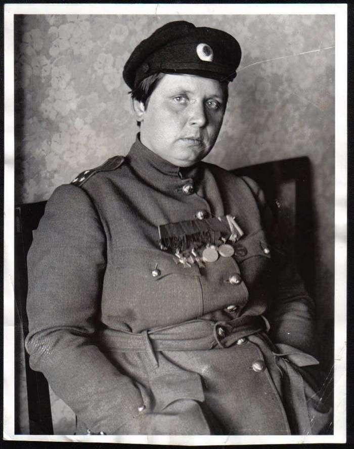 Мария Бочкарёва или как большевики