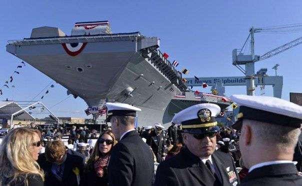 Флот США получит супермогилу за $ 15 миллиардов