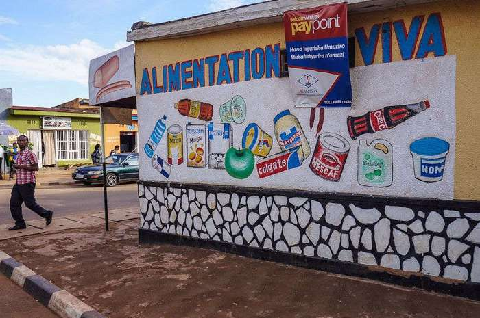 Африканские продуктовые рынки