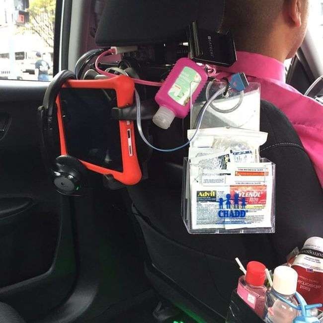 Такси со всем необходимым