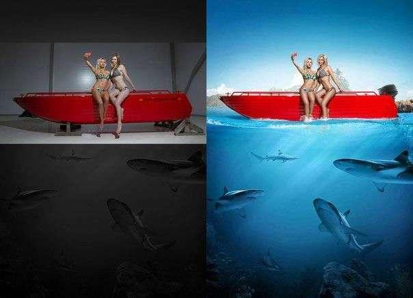 До и после: впечатляющие работы от мастеров фотошопа