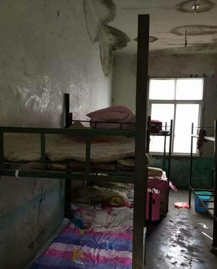 Суровые условия жизни китайских студентов