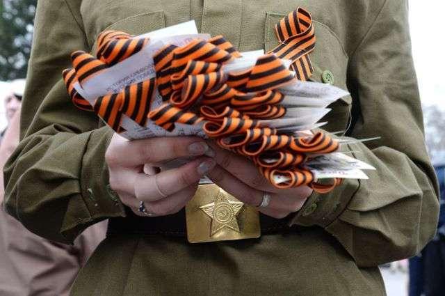 Комитет Рады одобрил законопроект о штрафах за ношение георгиевской ленты