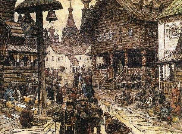 Как жили в Москве 500 лет назад
