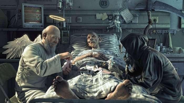Что испытывает человек после смерти