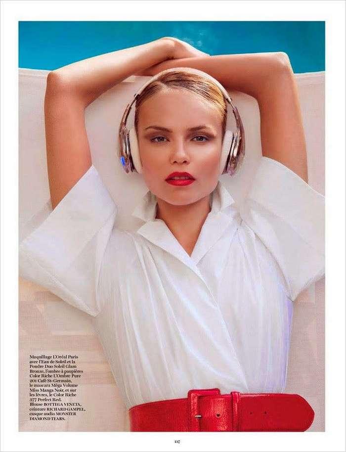 Наташа Поли (Natasha Poly) фотосессия для Vogue Paris