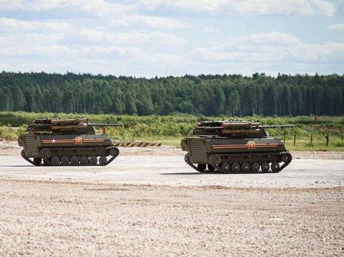 Роботизированный боевой комплекс Уран-9