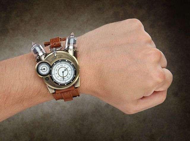 Tesla Watch — невероятные часы для ценителей стимпанка