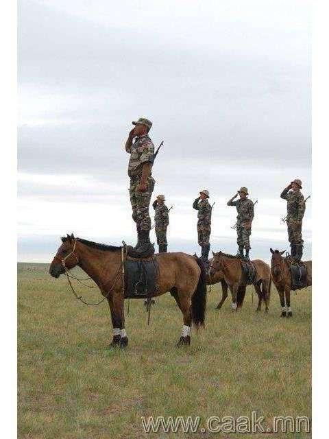 6 фактов о современной монгольской армии