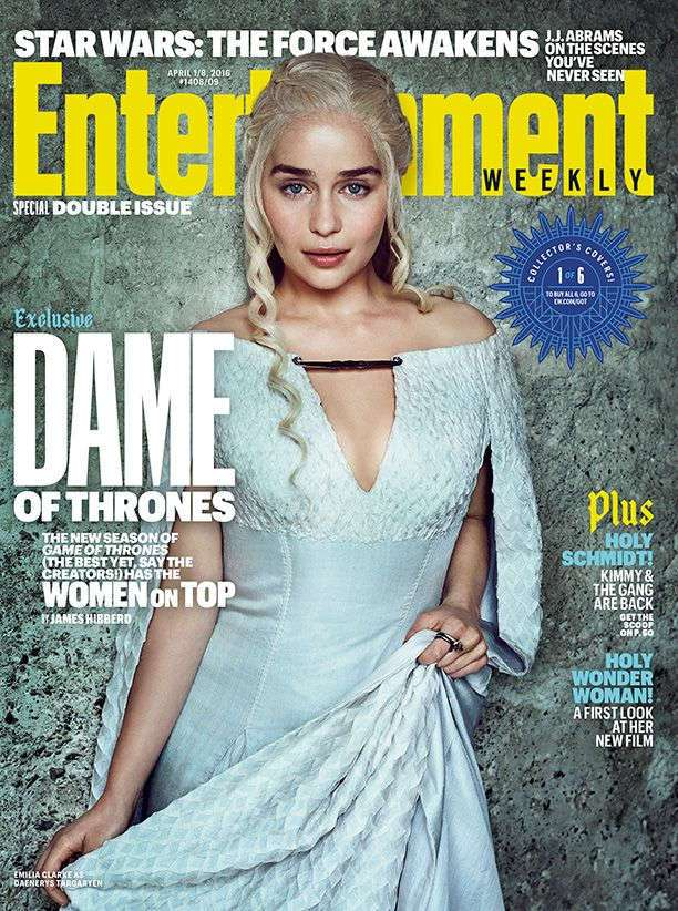 Актрисы Игры престолов в Entertainment Weekly