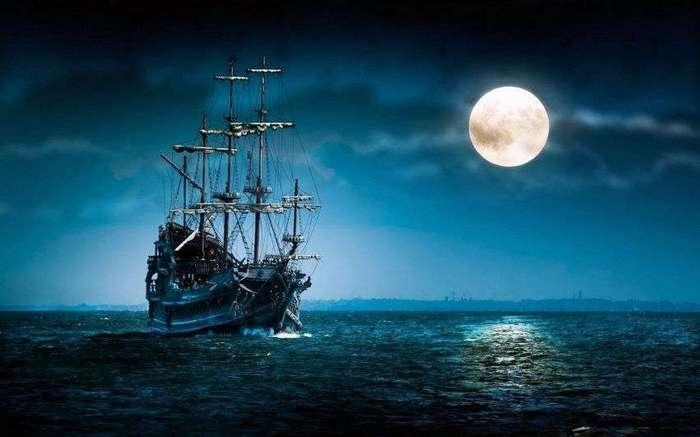 Как пираты управляли кораблями