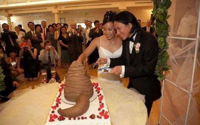 Свадебные торты, которые заставили рыдать приглашенных гостей