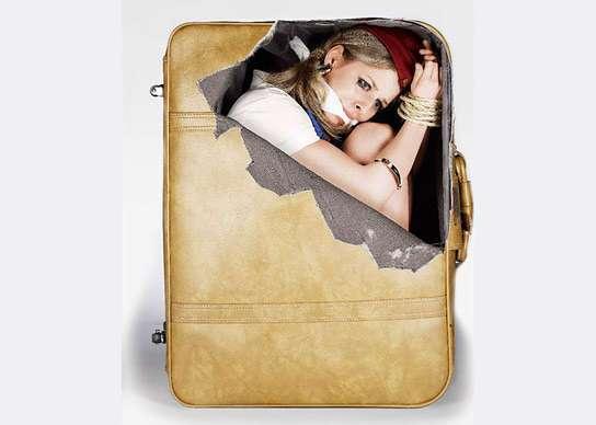 Прикольные наклейки на чемодан