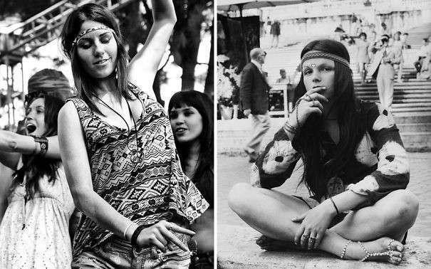 Фотографии девушек с фестиваля
