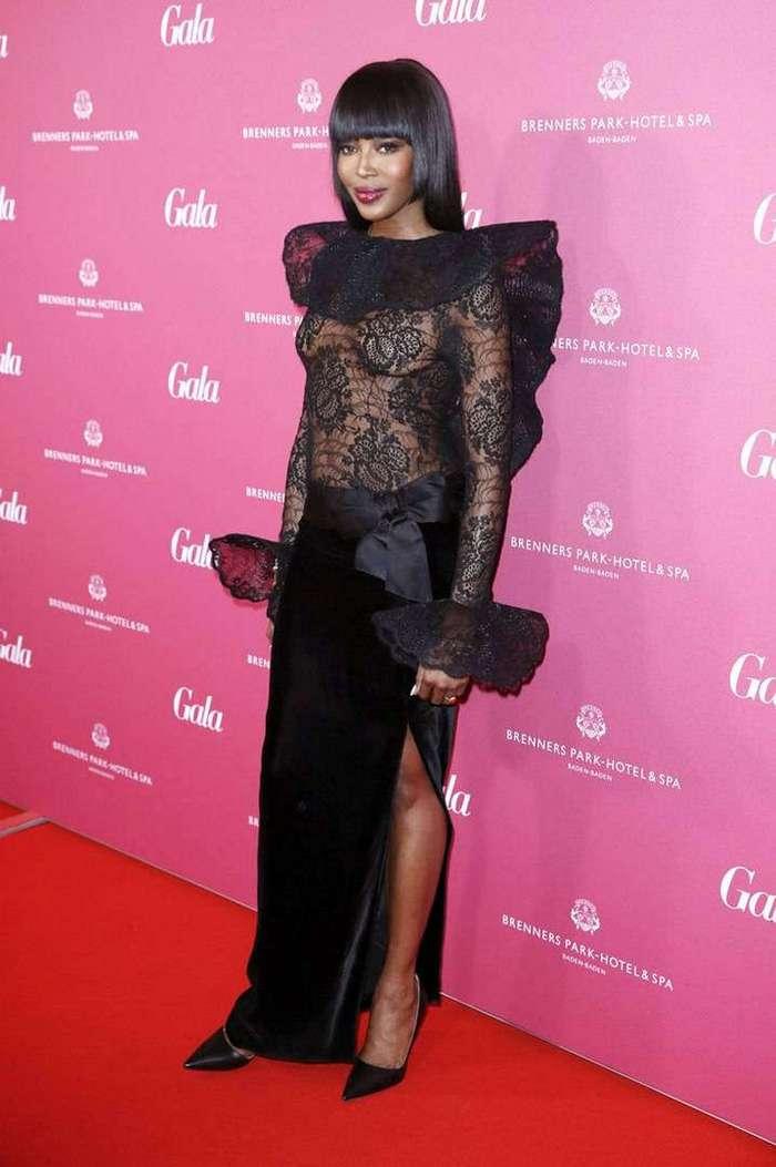 Наоми Кэмпбелл на Gala Spa Awards 2016