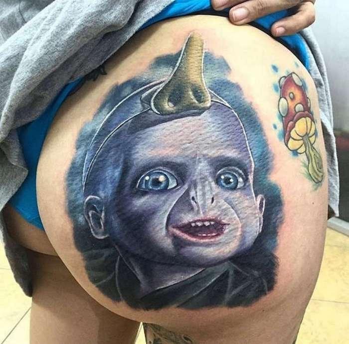 Такие татуировки не каждый отважится наколоть