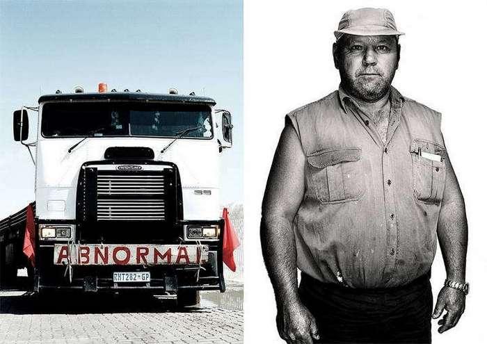 Американские грузовики и их водители
