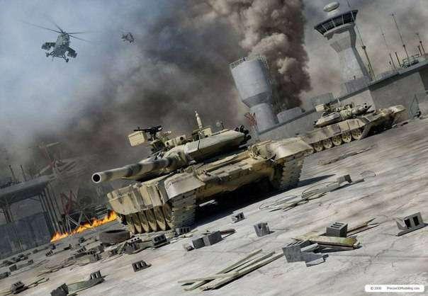 Красивые арты армии России