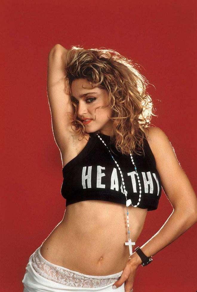 Редкие фотографии бурной молодости Мадонны