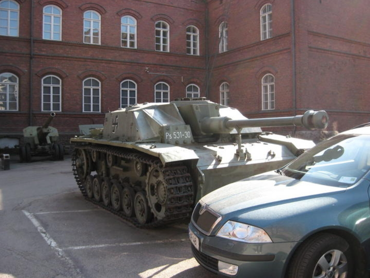 Хорошо припарковать можно не только автомобиль