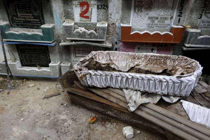 Как устроены кладбища Гватемалы