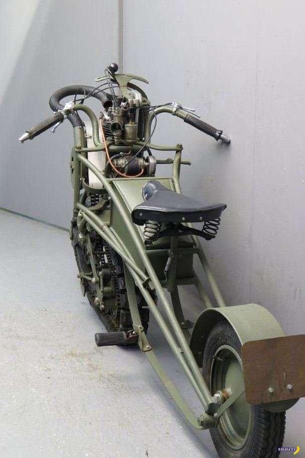 Интересный мотоцикл из 1937 года