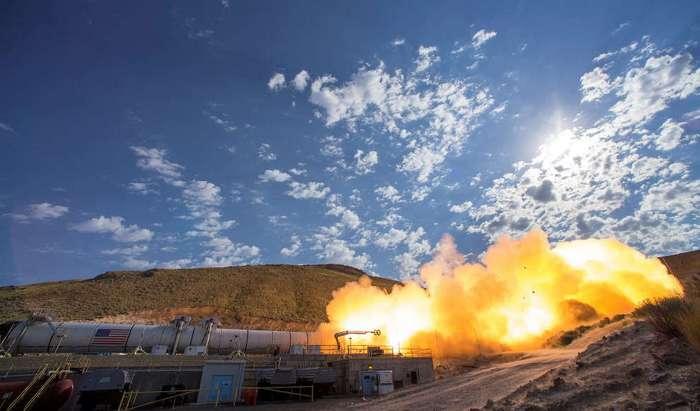 Испытание огнем ракеты для полетов на Марс