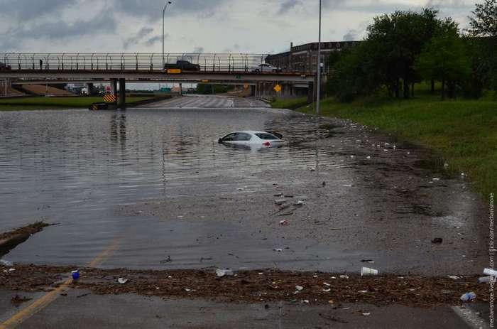 Историческое наводнение в Хьюстоне