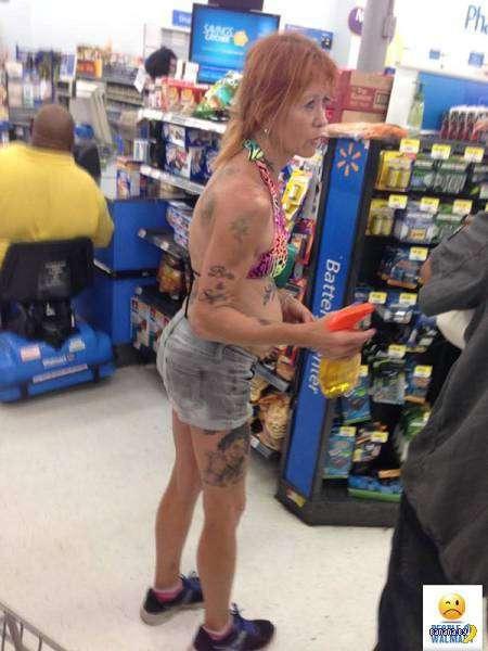 Яркие модники из Walmart - 4