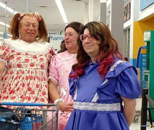 Яркие модники из Walmart - 5