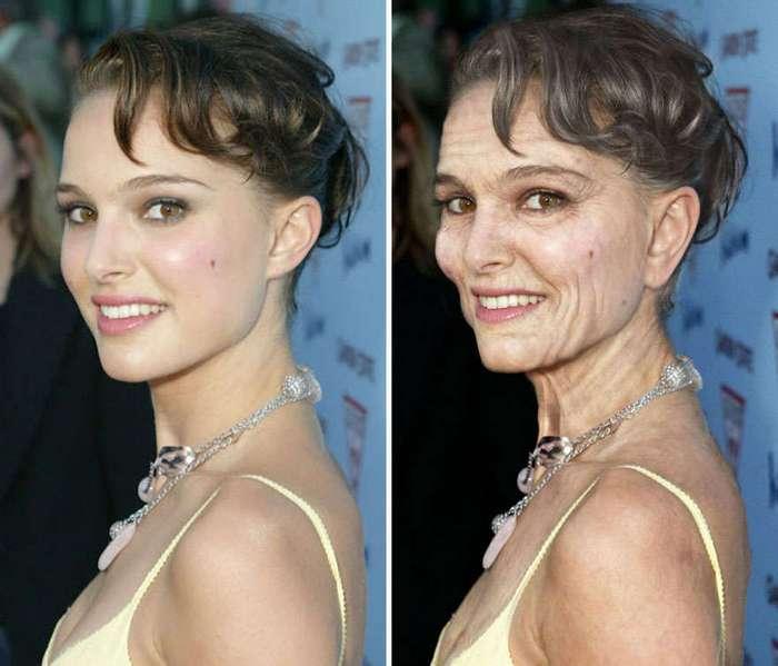 Как будут выглядеть знаменитости в старости