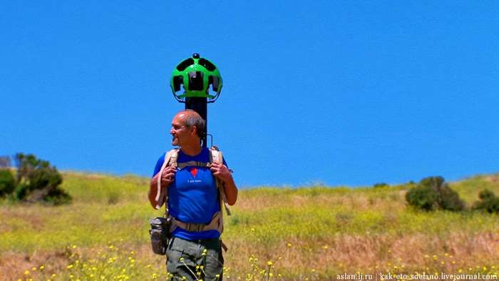 Как делают панорамы для Google Street View
