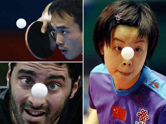 Как игроки в пинг-понг превращаются в заклинателей пластикового мяча