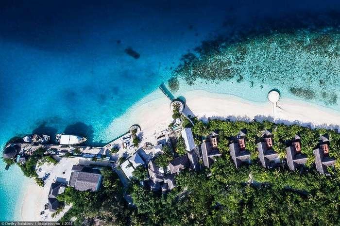 Как отдыхают миллионеры на Мальдивах