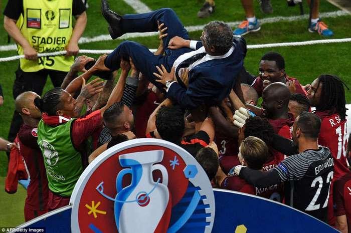 Как Португалия отмечала победу национальной сборной на Евро-2016