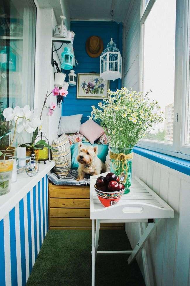 Как превратить маленький балкон в уютное место для отдыха