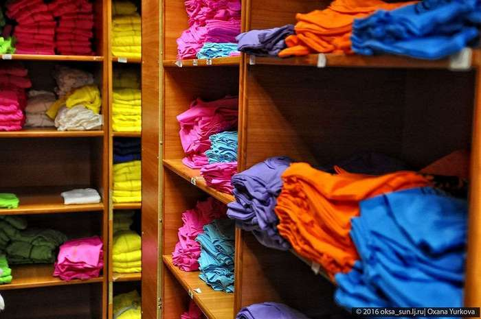 Как шьют спортивную одежду