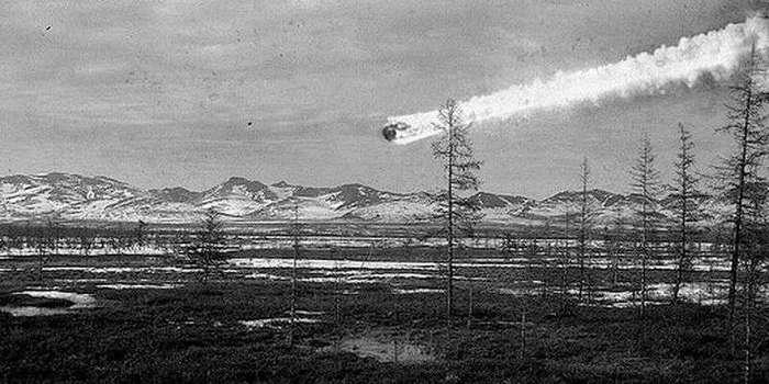 Как упал Тунгусский метеорит