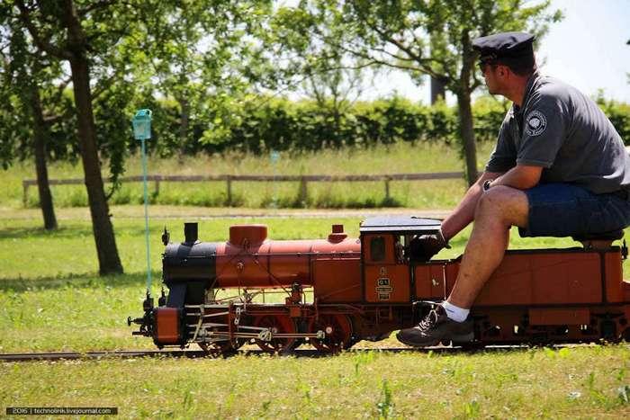 Как устроена самая маленькая железная дорога в мире