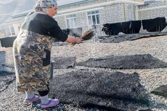 Как в Дагестане делают бурки
