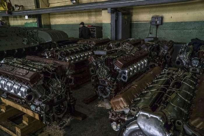 Как в Украине модернизируют советские танки