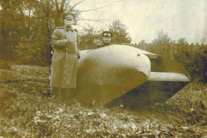 Как выглядел первый русский танк «Вездеход»