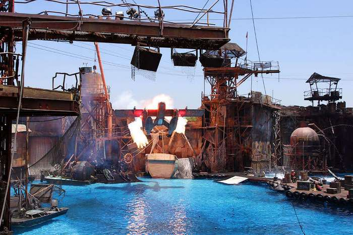 Как выглядит Universal Studios в Лос-Анджелесе