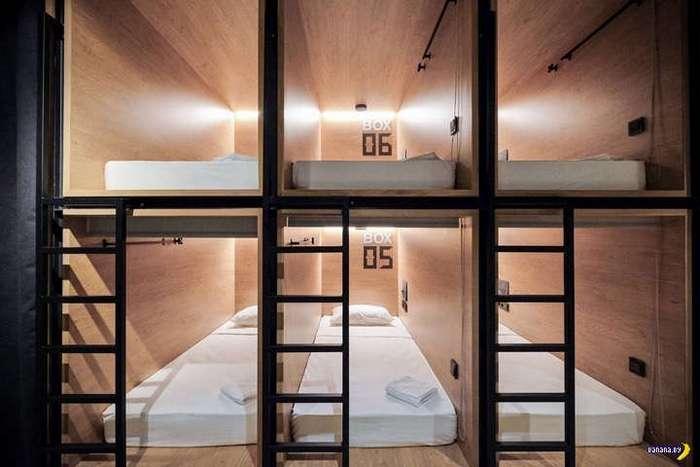 Капсульный отель, но не в Японии!